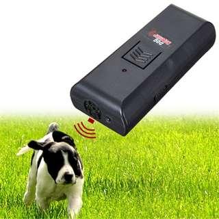 bark control electronic dog repeller ultrasonic Black
