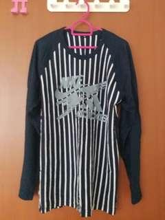 Nike vs Adidas Long Sleeve Cotton Shirt