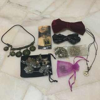 Assorted Accessories (SUPER WORTH IT!!!)