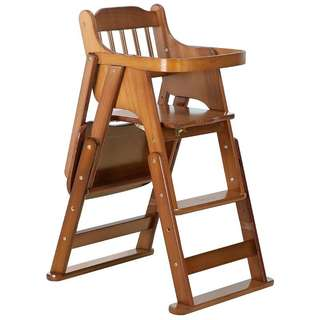 Baby Dining Chair Solid Wood