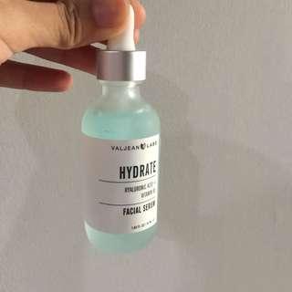 Valjean Labs Hyaluronic Acid + Vitamin B5 Facial Serum