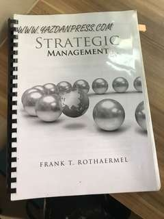 Strategic management textbook softcopy