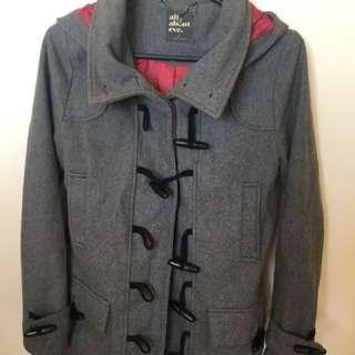 Grey Duffle Coat