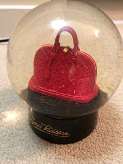 Louis Vuitton Alma VIP 限量 水晶球