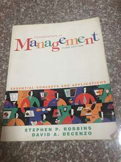 Management fundamental