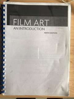 EN2203 Intro to Film textbook