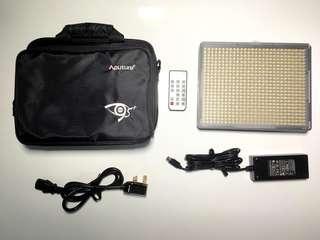 aputure 672 led video light canon sony nikon