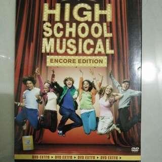 High School Musical Encore Edition DVD