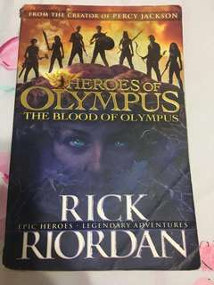 Heroes Of Olympus- the blood of Olympus