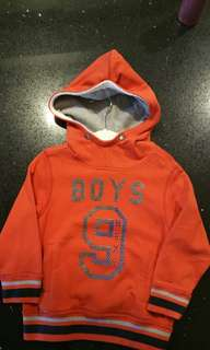 Pull Over Sweater with Hoodie