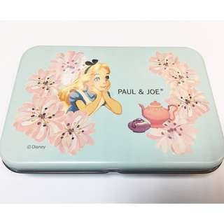 原裝正版 - Paul & Joe X Disney Alice in wonderland box 迪士尼愛麗絲鐵盒
