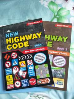 Highway Code Book 1 and 2