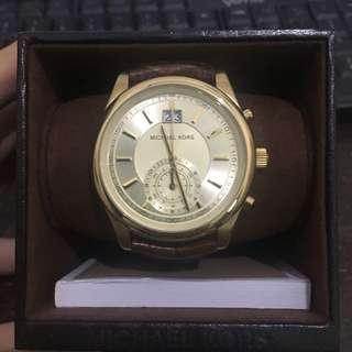 Jam Tangan Michael Kors MK8459 Aiden Chronograph Gold