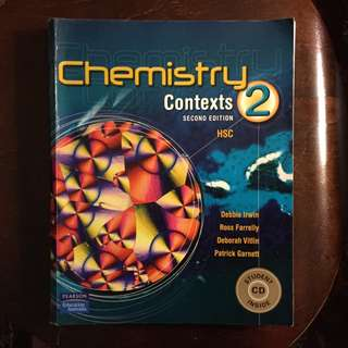 Chemistry Contexts 2 HSC INCLUDES CD by Pearson Education Irwin
