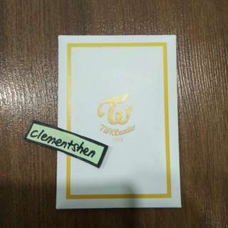 [FREE POS] TWICE Twicecoaster Lane:2 TT Pre-order Benefits Photocard SET Yellow Version