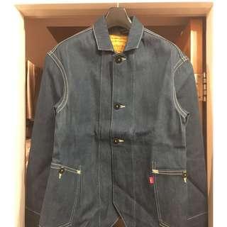 Levi's RED 2003AW Elijah Unwashed Work Jacket Size S