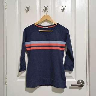BLUED - Not Used - 3/4 Sleeves Blouse - Medium