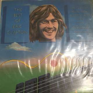 Best of Eric Clapton vinyl record