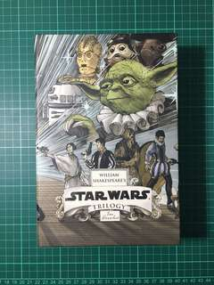 Shakespeare's Star Wars Trilogy (with book cover)