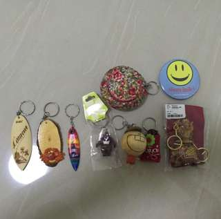 Variety key chain sourvenir for sale