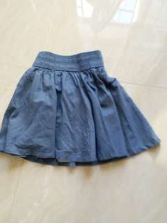 A skirt for Summer wear..by H and M. Made in India.  Size:34...160/64A