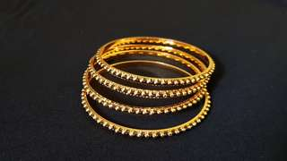 Gold colour Bangles