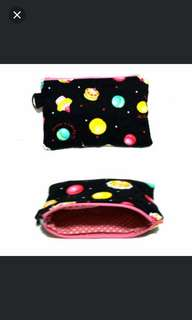 Black Macaroon Cupcake Zipper Pouch (Today Available)