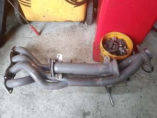 FD2R Toda Exhaust Manifold and Test Pipe