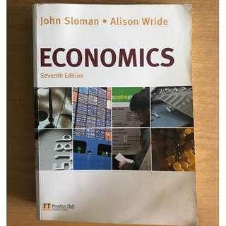 Economics 7th edition, John Sloman