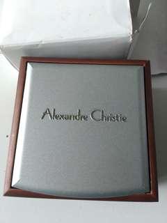 Box original jam tangan alexander christie