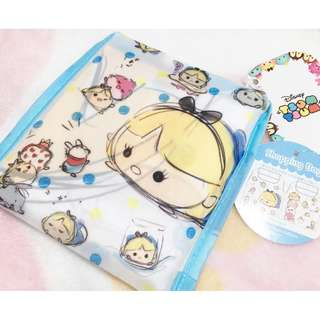 日本版 - Disneystore Alice in wonderland 迪士尼愛麗絲 妙妙貓 tsumtsum 可摺細 購物袋 環保袋 ECO BAG TOTE BAG