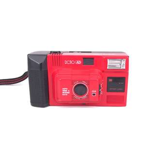 Spaceland DC10 Auto Date Red Film Compact (Used) [SN: ***3912]