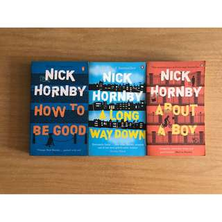 Books by Nick Hornby