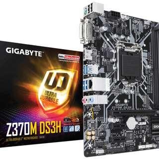 Gigabyte Z370M-DS3H