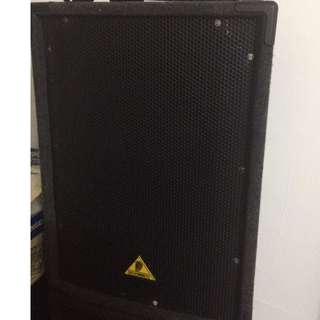 "Behringer B1520 Pro Eurolive Professional Series 15"" 2-Way Speaker (2 number) with Stand"