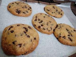 Gooey Choco Chip Cookies