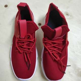 Lightweight Sports Shoes (Red)