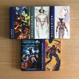 Superhero Novels
