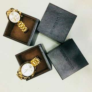 MK watch for him and her