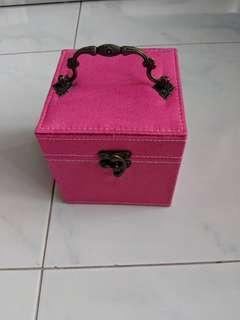 Brand New Suede Jewellery Box