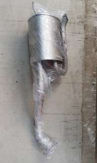 Stock exhaust Honda Fit GE6