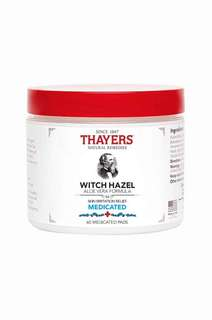 Thayers Medicated Super Witch Hazel Pads (60 pcs)