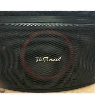 Tecnik speaker TS-PVX6501 ( 2 no), with stand to wall mount