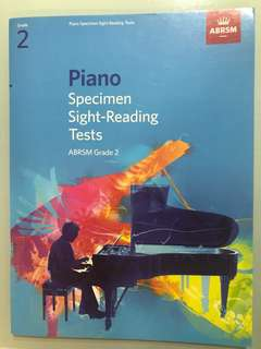 Piano Specimen Sight Reading Tests Grade 2