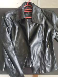 Doublewoot faux leather jacket