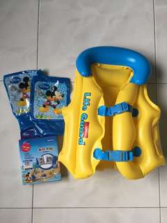 Swim Vest and Arm Float
