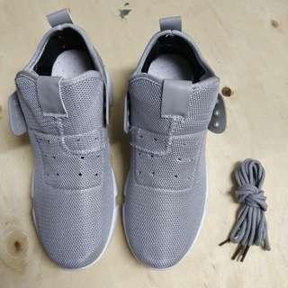 Light Grey High Cut Sports Shoes