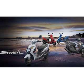 [台南機車倉庫直售]免通知家人 免保人 SUZUKI SWISH 挑戰全國最低價78000辦到好 全國最速交車 預購從速