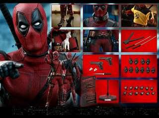 Hot toys Deadpool 優惠訂單