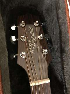 Takamine GD30 CE guitar. Solid top, almost brand new.